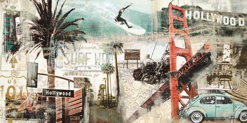 konfigurieren des Kunstdrucks in Wunschgröße California von Burke, Tyler