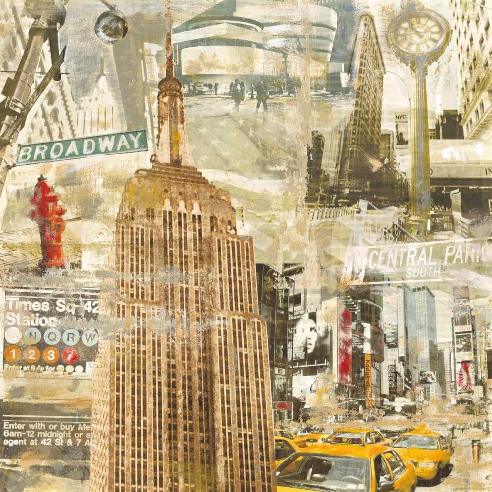konfigurieren des Kunstdrucks in Wunschgröße In New York City von Burke, Tyler
