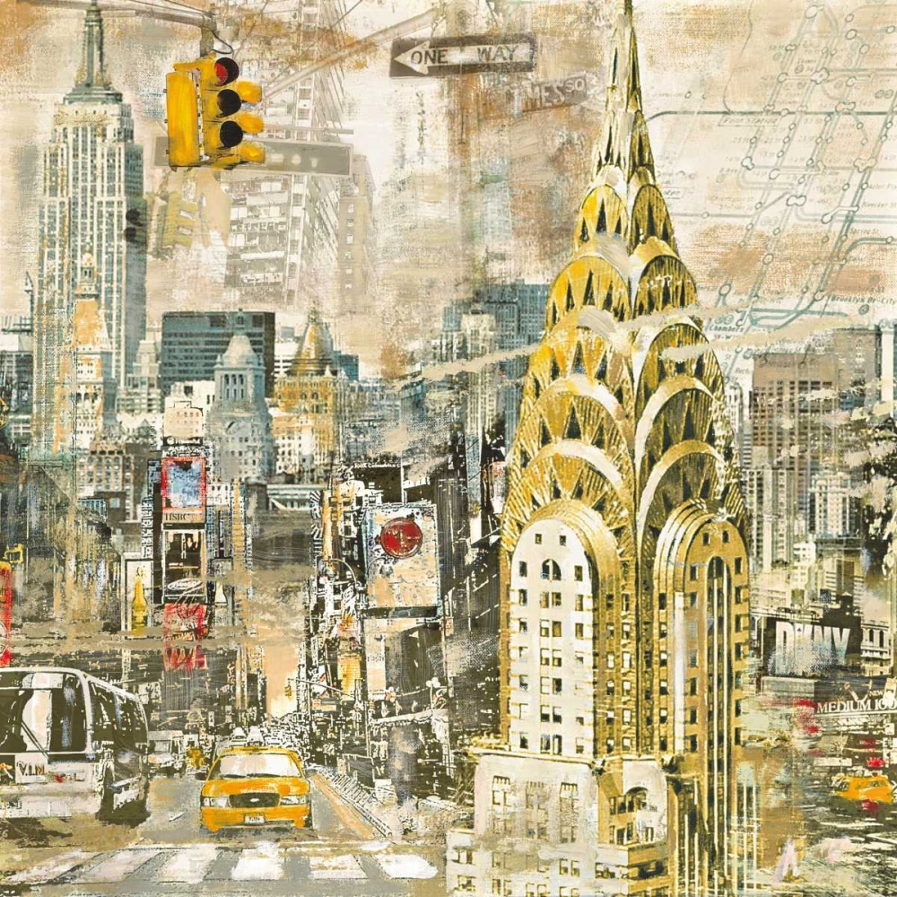 konfigurieren des Kunstdrucks in Wunschgröße In Manhattan von Burke, Tyler