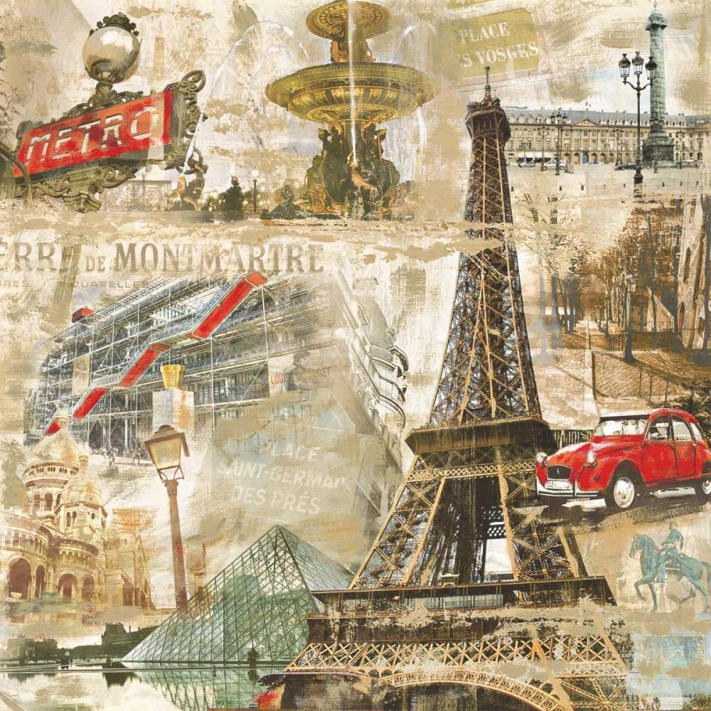 konfigurieren des Kunstdrucks in Wunschgröße In Paris von Burke, Tyler