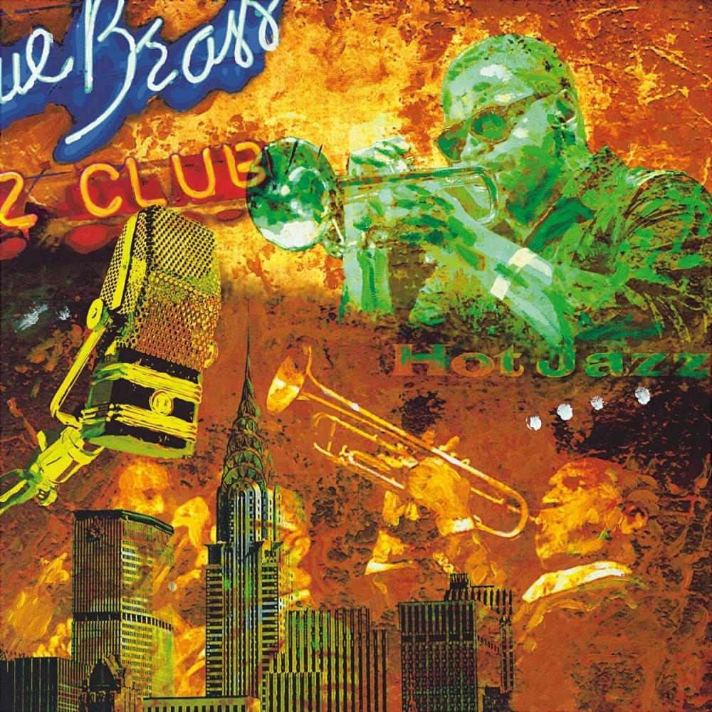 konfigurieren des Kunstdrucks in Wunschgröße Hot jazz von Burke, Tyler
