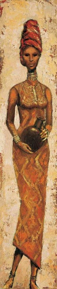 konfigurieren des Kunstdrucks in Wunschgröße African Woman III von Halley, Terence