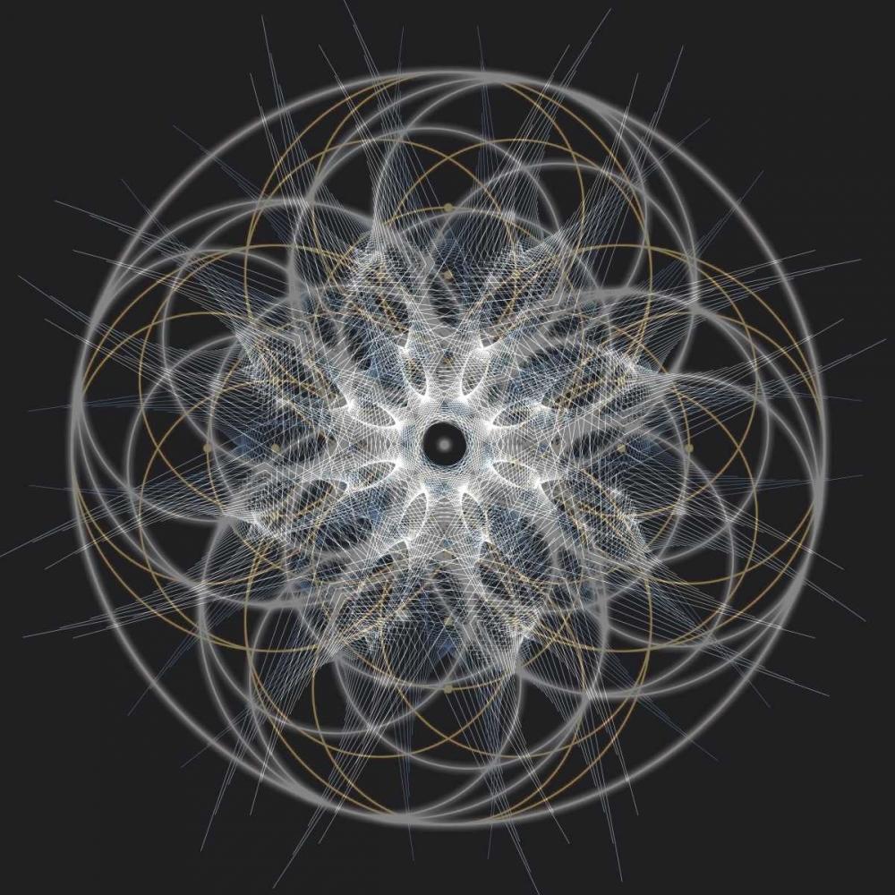 konfigurieren des Kunstdrucks in Wunschgröße Positive Energy I von Anderson, Tyler
