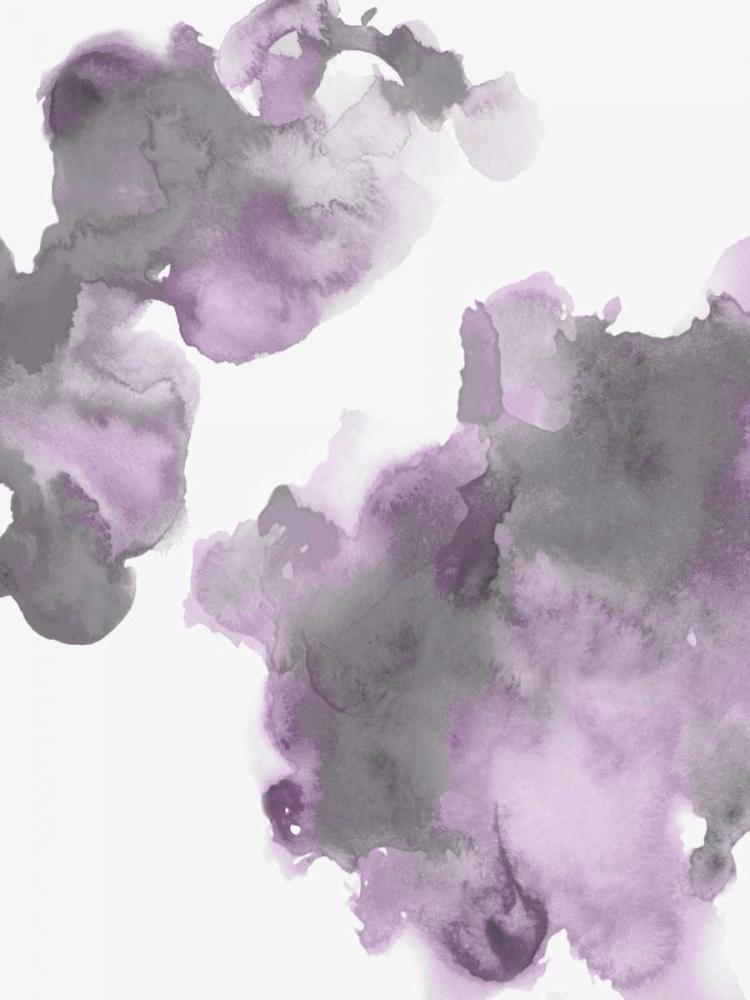 konfigurieren des Kunstdrucks in Wunschgröße Elevate in Lavender II von Mitchell, Lauren