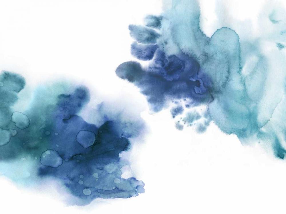 konfigurieren des Kunstdrucks in Wunschgröße Tempting in Blue von Mitchell, Lauren