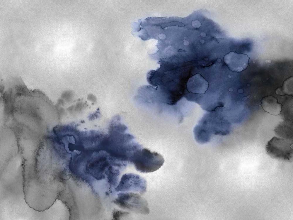konfigurieren des Kunstdrucks in Wunschgröße Tempting in Indigo von Mitchell, Lauren