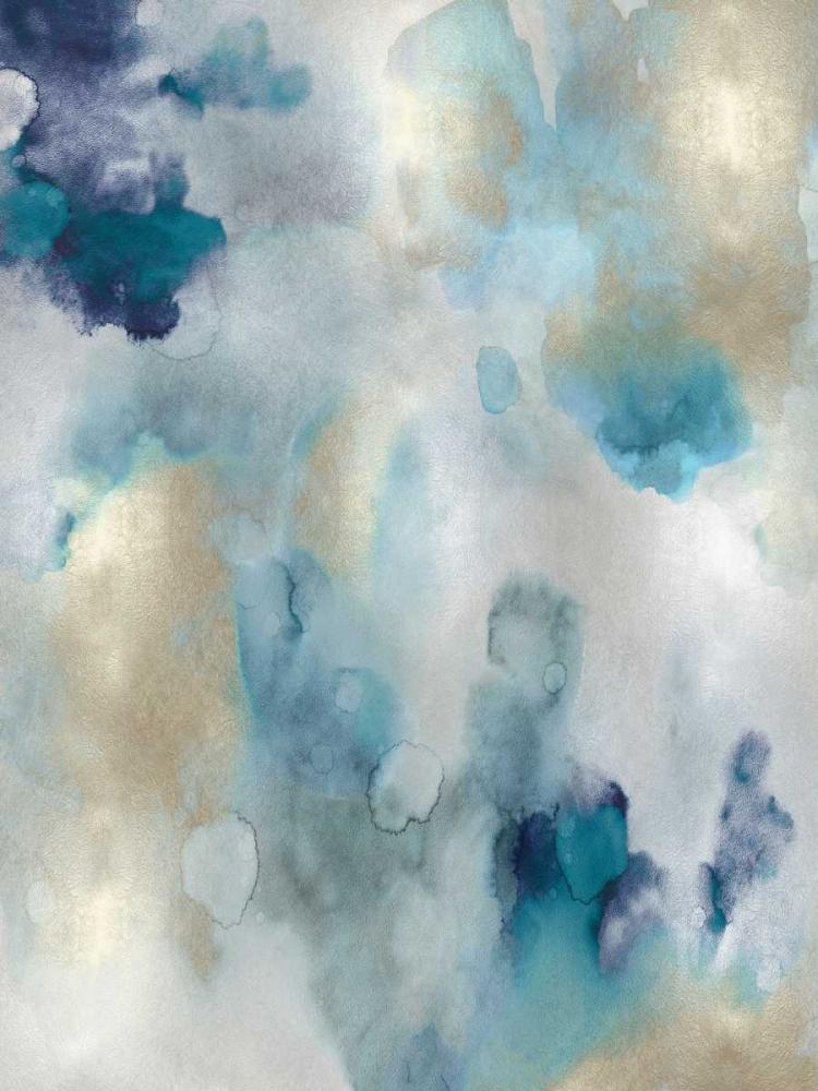 konfigurieren des Kunstdrucks in Wunschgröße Whipser in Aqua V von Mitchell, Lauren