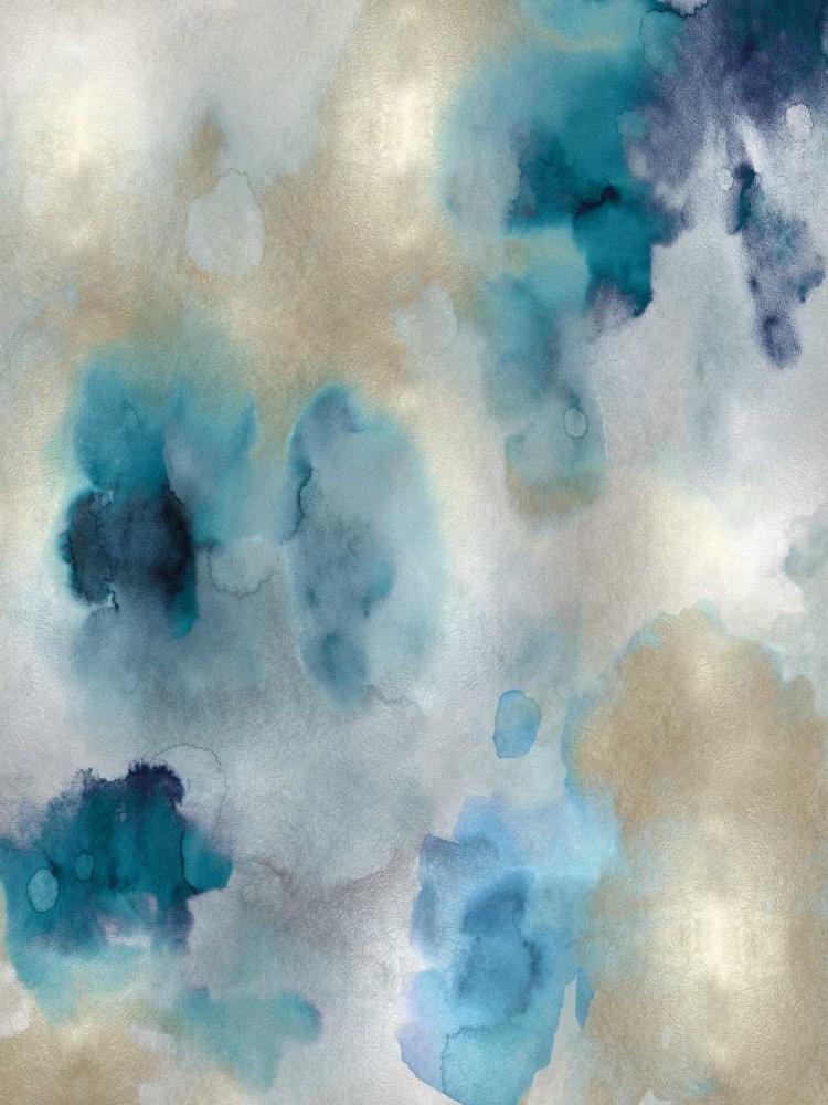 konfigurieren des Kunstdrucks in Wunschgröße Whisper in Aqua II von Mitchell, Lauren