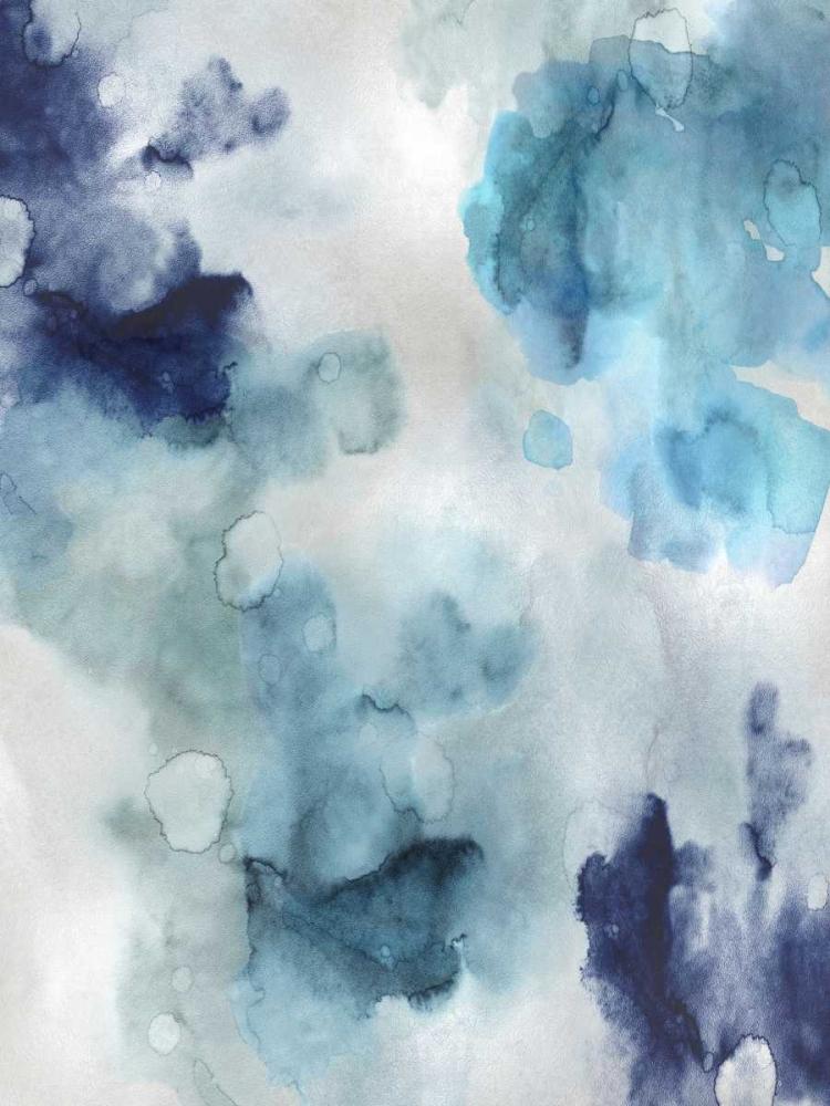 konfigurieren des Kunstdrucks in Wunschgröße Whisper in Blue von Mitchell, Lauren