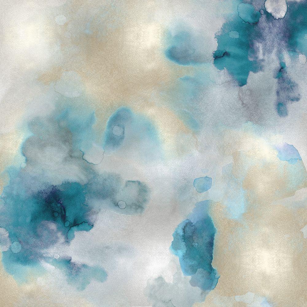 konfigurieren des Kunstdrucks in Wunschgröße Aqua Movement III von Mitchell, Lauren