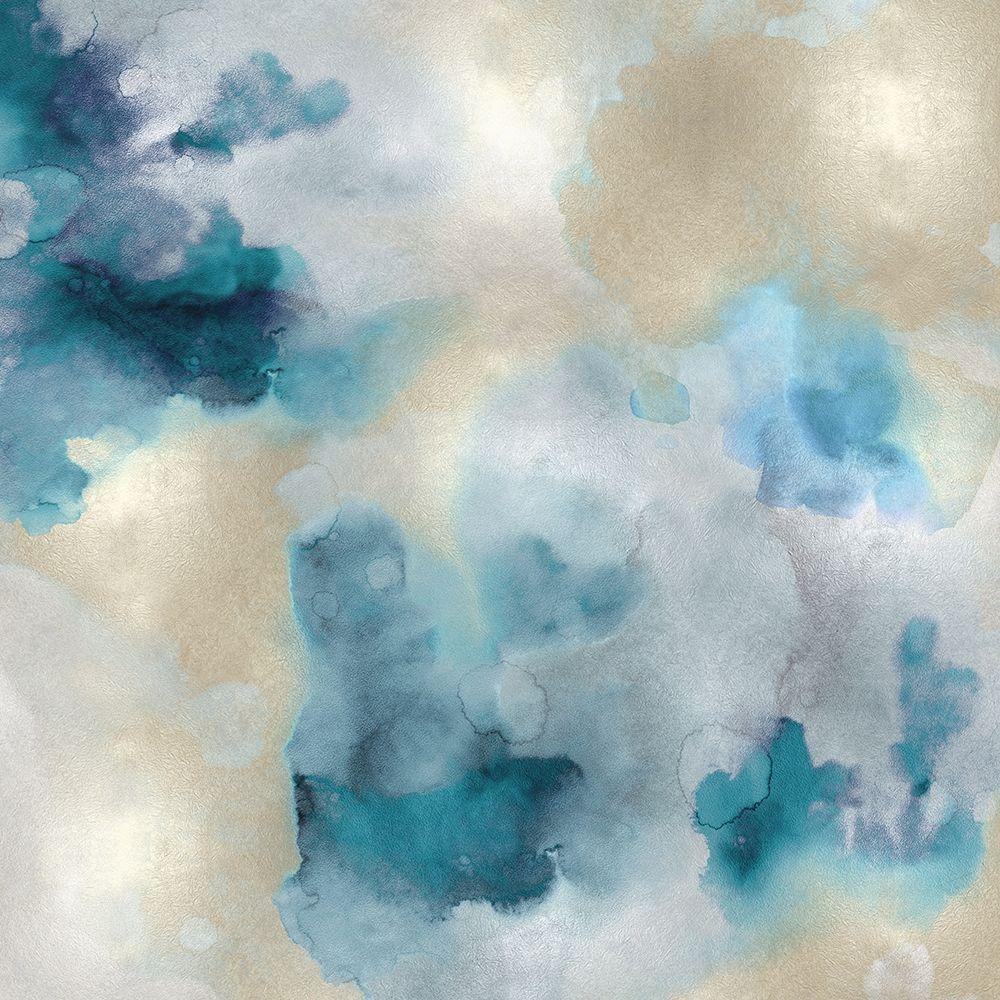 konfigurieren des Kunstdrucks in Wunschgröße Aqua Movement IV von Mitchell, Lauren