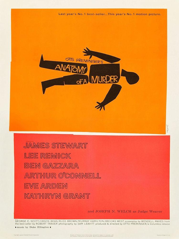 konfigurieren des Kunstdrucks in Wunschgröße Anatomy Of A Murder von Anonymous