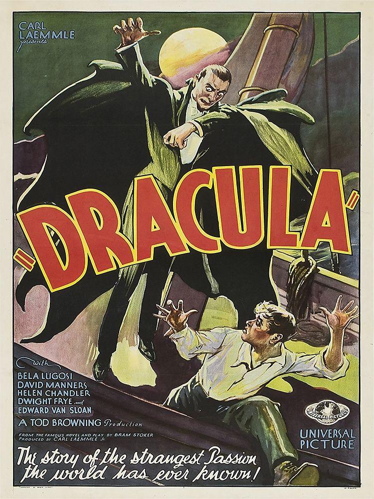 konfigurieren des Kunstdrucks in Wunschgröße Dracula 1931 von Anonymous