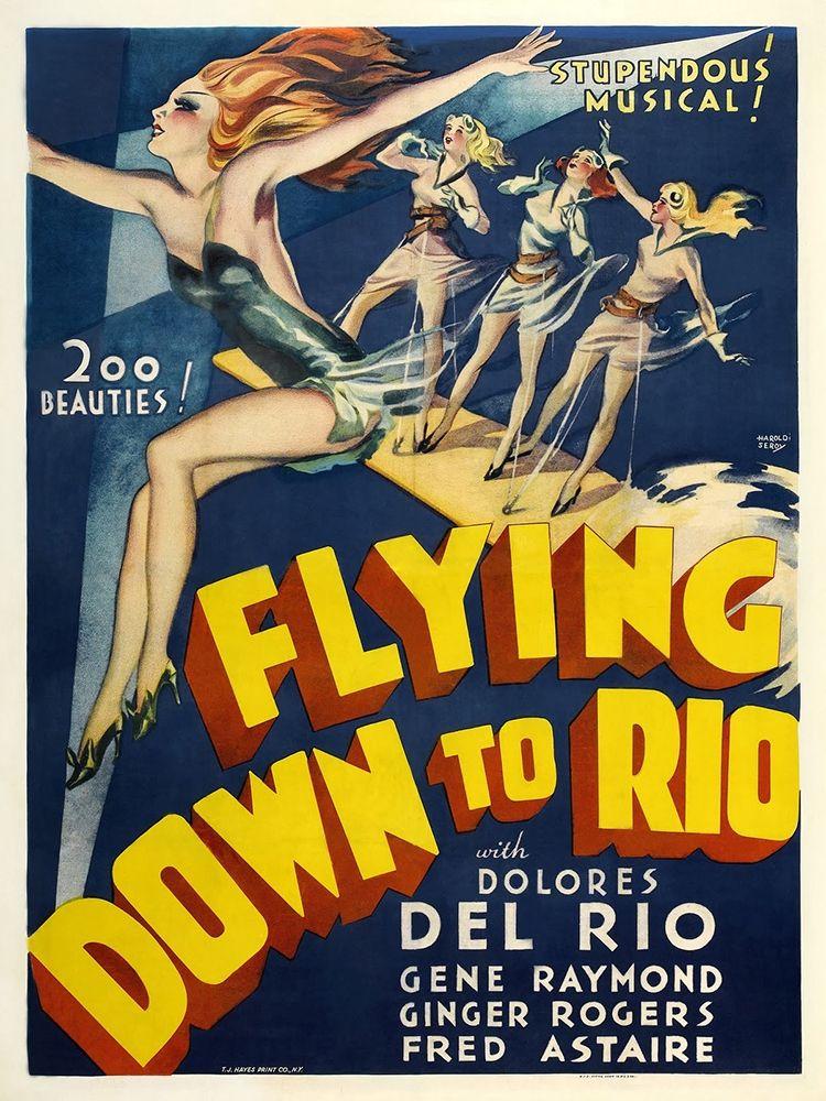 konfigurieren des Kunstdrucks in Wunschgröße Flying Down To Rio von Anonymous