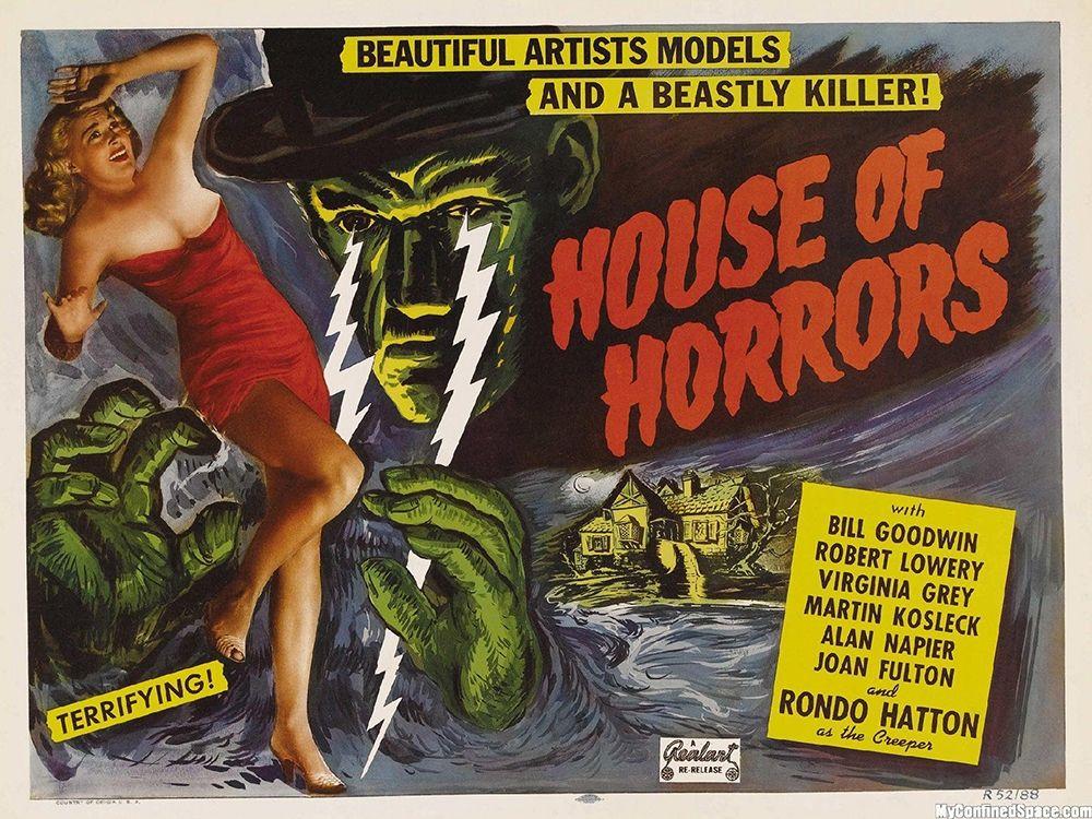 konfigurieren des Kunstdrucks in Wunschgröße House Of Horror von Anonymous