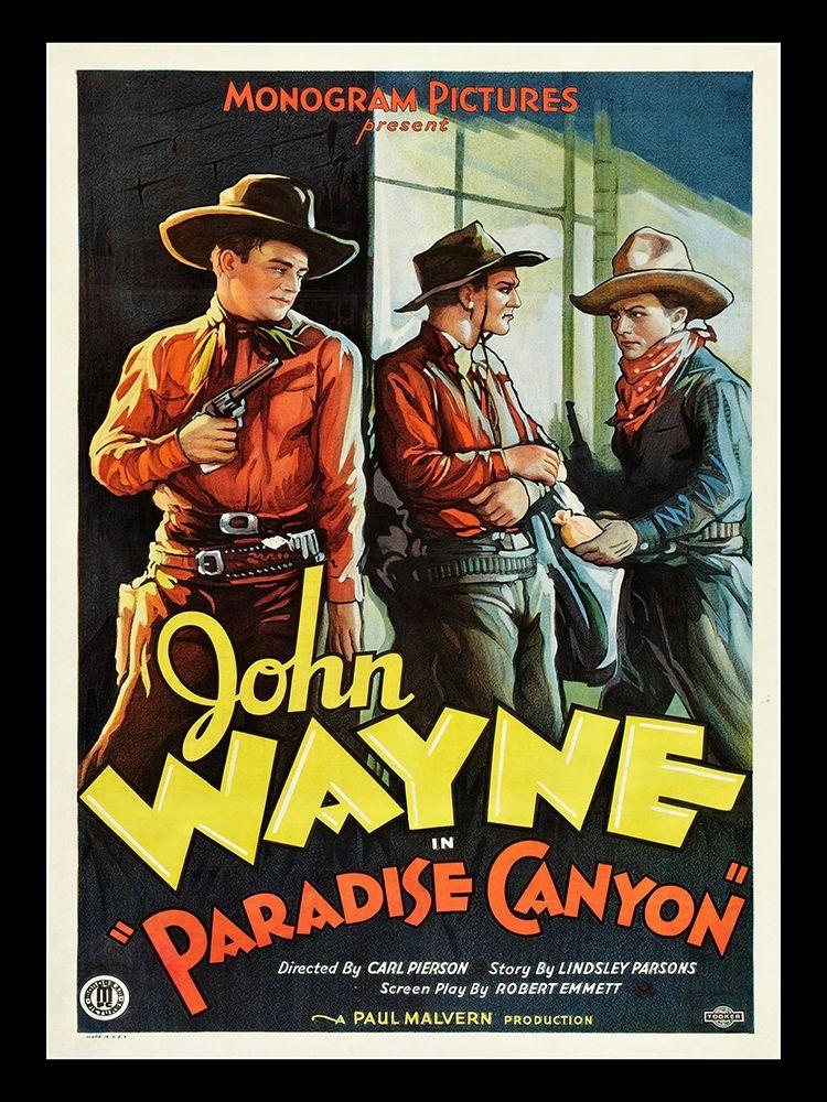 konfigurieren des Kunstdrucks in Wunschgröße John Wayne Paradise Canyon von Anonymous