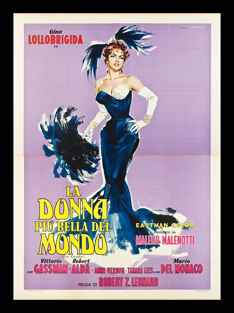 konfigurieren des Kunstdrucks in Wunschgröße La Donna Piu Bella Del Mondo von Anonymous