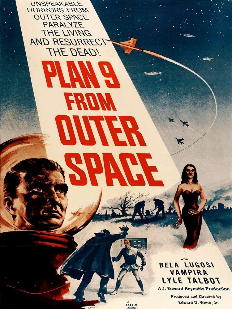 konfigurieren des Kunstdrucks in Wunschgröße Plan 9 From Outer Space von Anonymous