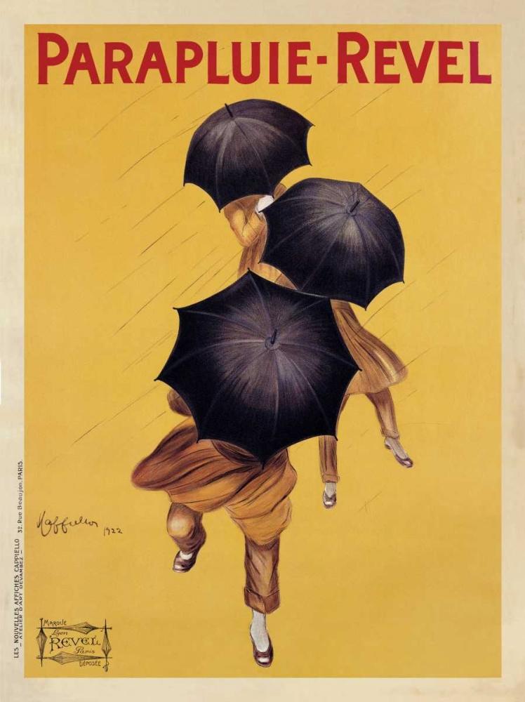 konfigurieren des Kunstdrucks in Wunschgröße Parapluie-Revel-1922 von Cappiello, Leonetto