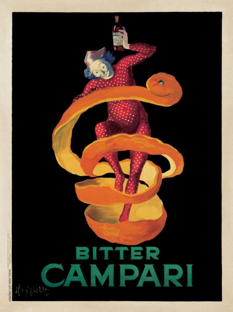 konfigurieren des Kunstdrucks in Wunschgröße Bitter Campari von Cappiello, Leonetto