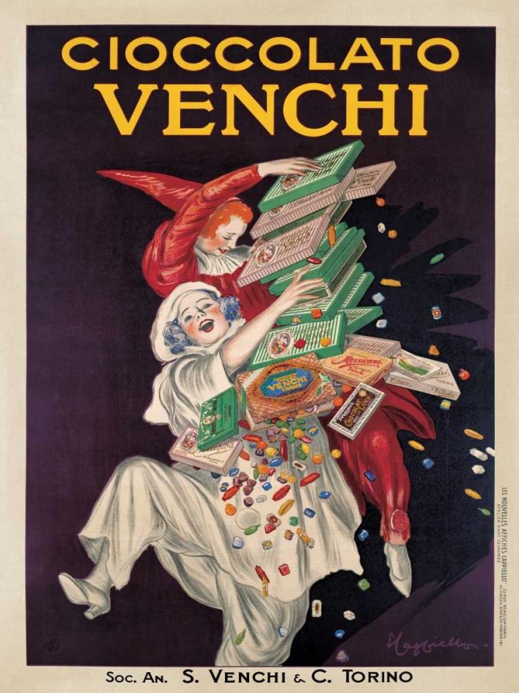 konfigurieren des Kunstdrucks in Wunschgröße Cioccolato Venchi von Cappiello, Leonetto