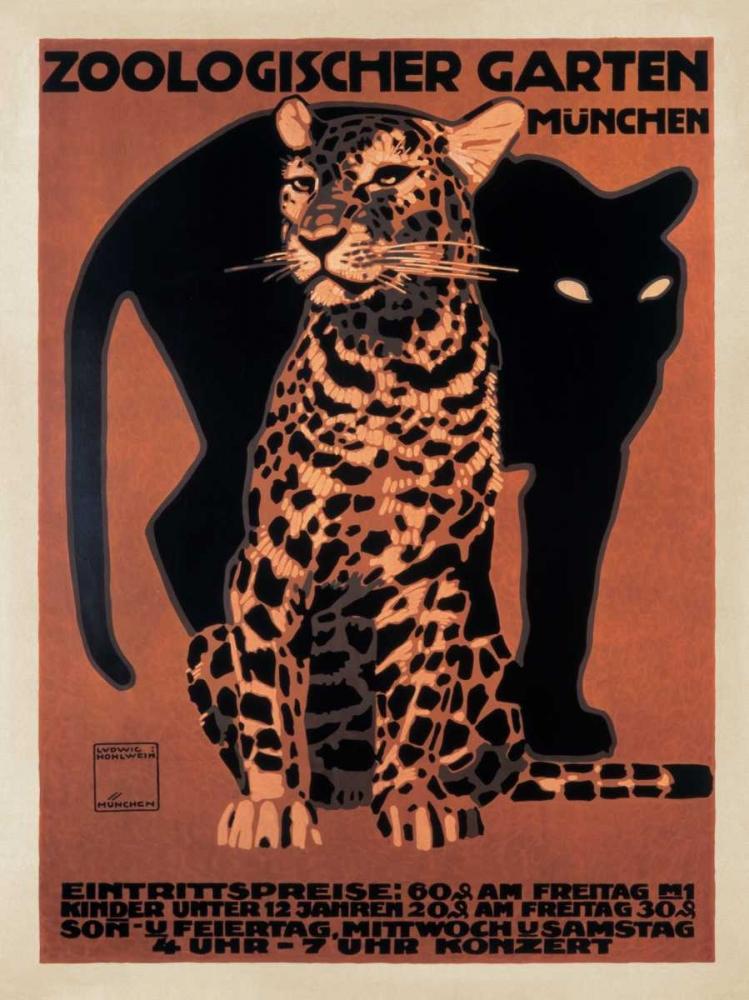 konfigurieren des Kunstdrucks in Wunschgröße Zoologischer Garten-1912 von Anonymous
