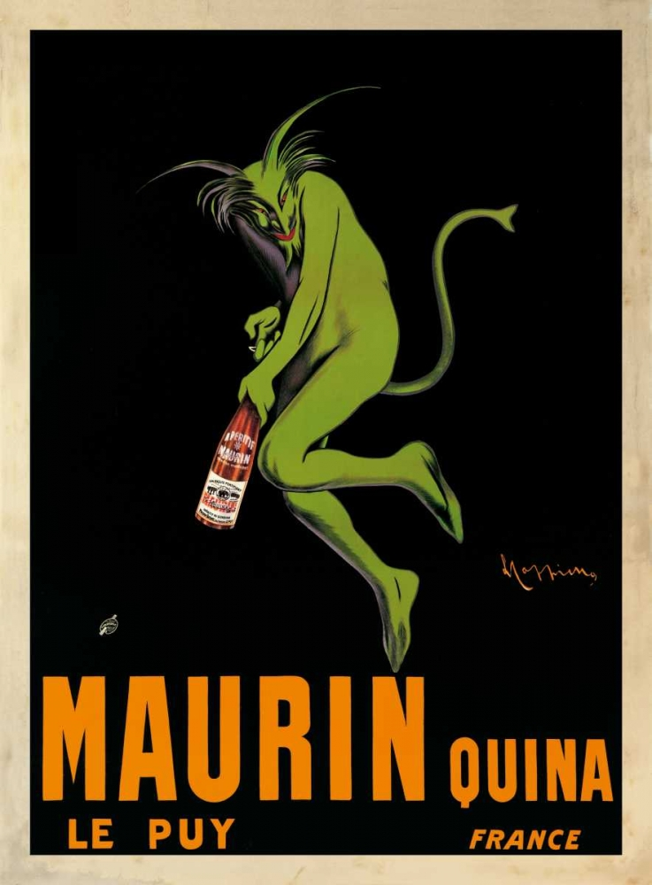 konfigurieren des Kunstdrucks in Wunschgröße Maurin Quina-1920 ca von Cappiello, Leonetto