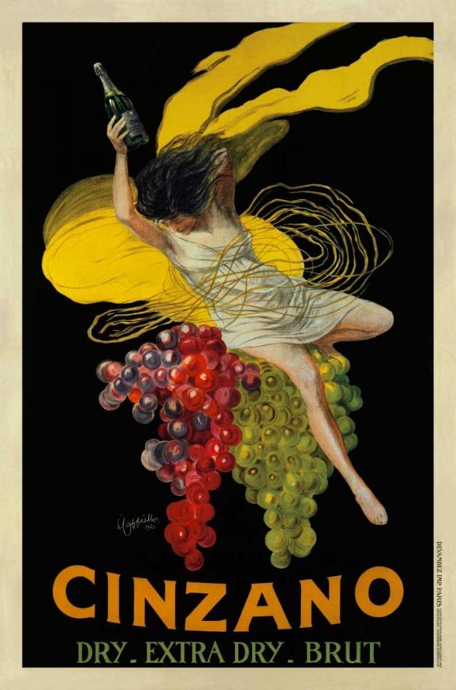 konfigurieren des Kunstdrucks in Wunschgröße Cinzano-1920 von Cappiello, Leonetto
