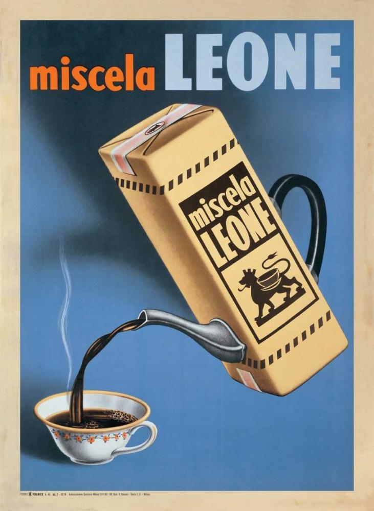 konfigurieren des Kunstdrucks in Wunschgröße Miscela Leone-1950 von Anonymous