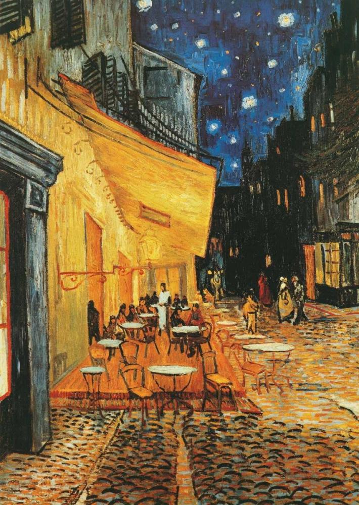 konfigurieren des Kunstdrucks in Wunschgröße Cafe de nuit von Van Gogh, Vincent