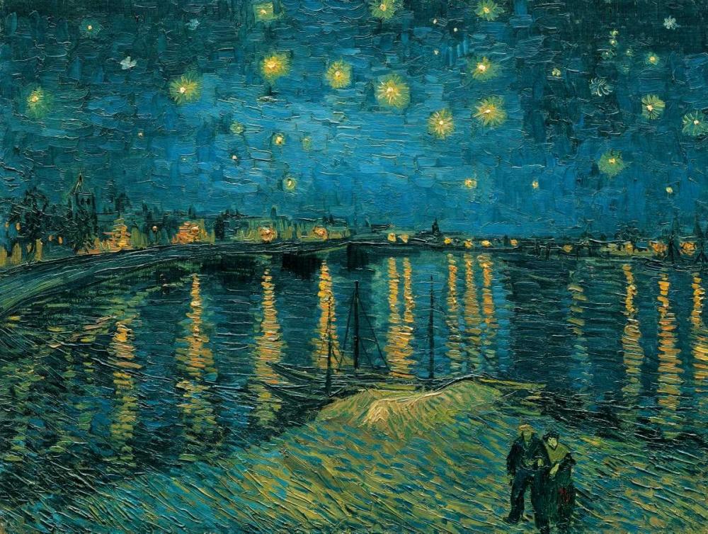 konfigurieren des Kunstdrucks in Wunschgröße La nuit toile-Arles von Van Gogh, Vincent