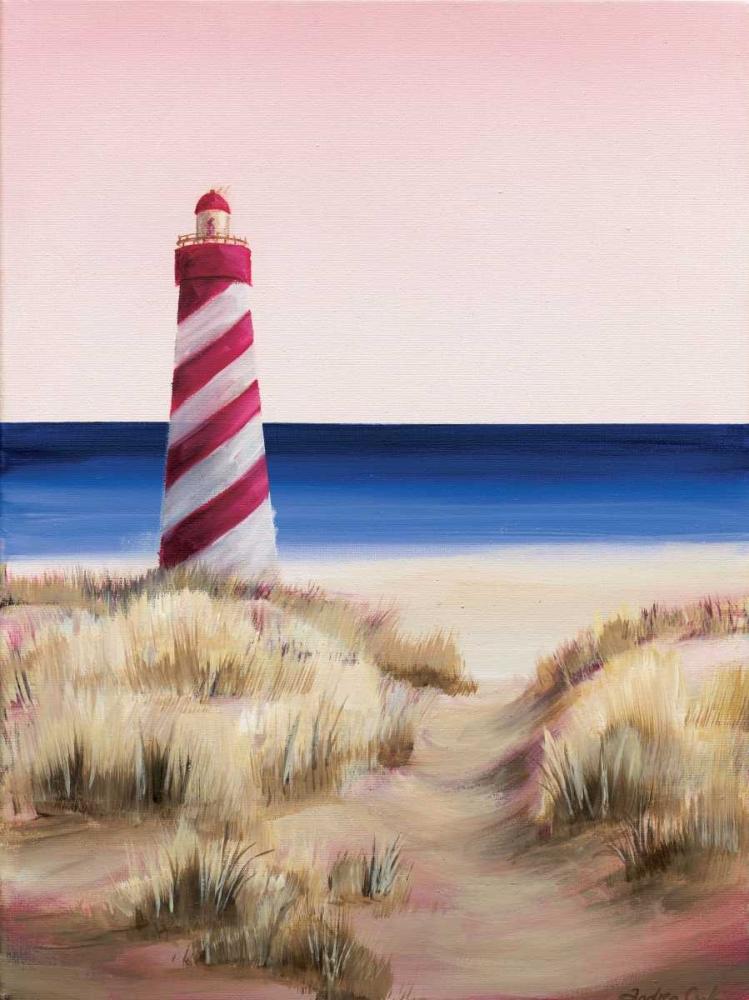 konfigurieren des Kunstdrucks in Wunschgröße Lighthouse von Cook, Andrea