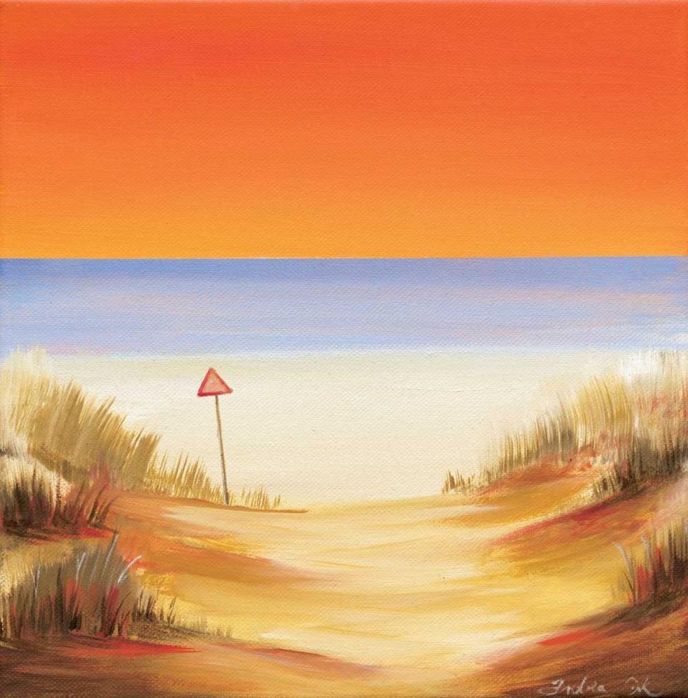 konfigurieren des Kunstdrucks in Wunschgröße Sunset soon von Cook, Andrea