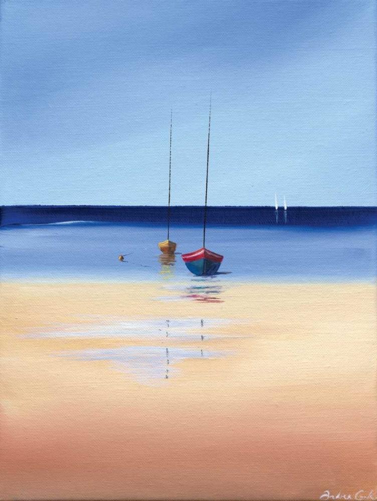 konfigurieren des Kunstdrucks in Wunschgröße Sea and Beach von Cook, Andrea