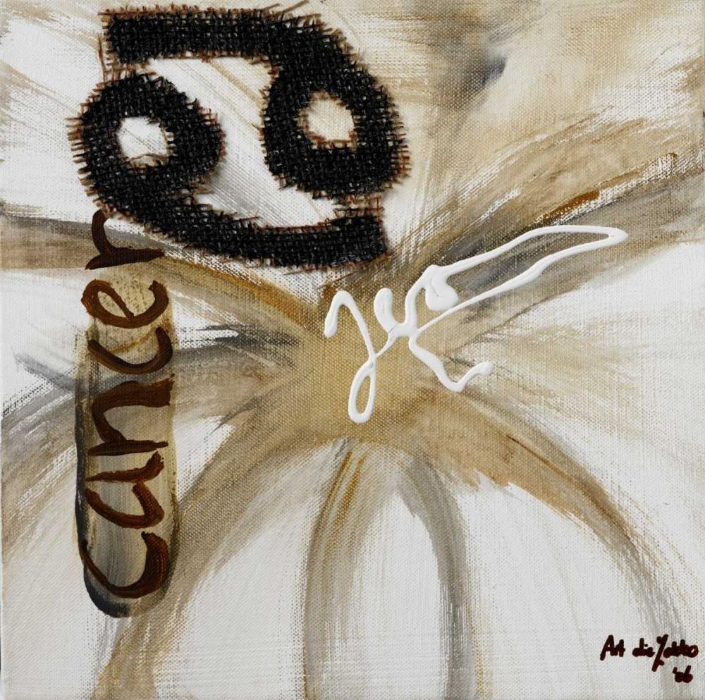 konfigurieren des Kunstdrucks in Wunschgröße Cancer von die Zakko, Art