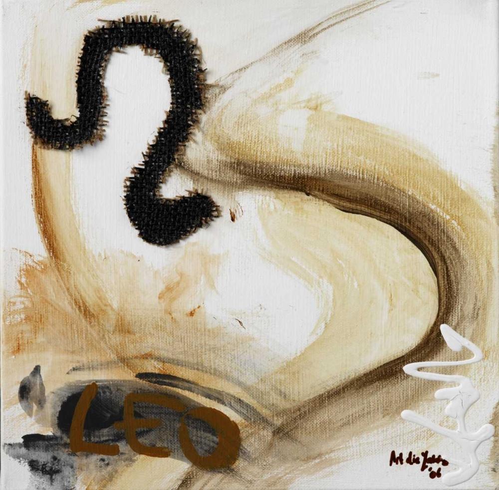 konfigurieren des Kunstdrucks in Wunschgröße Leo von die Zakko, Art