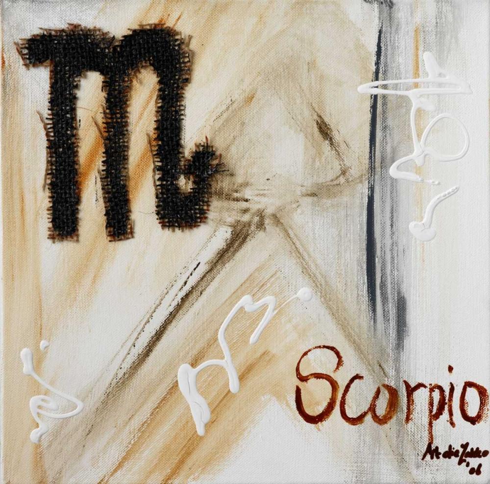 konfigurieren des Kunstdrucks in Wunschgröße Scorpio von die Zakko, Art