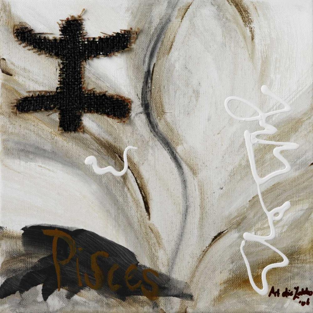 konfigurieren des Kunstdrucks in Wunschgröße Piscus von die Zakko, Art