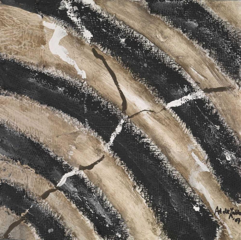 konfigurieren des Kunstdrucks in Wunschgröße Black lines von die Zakko, Art
