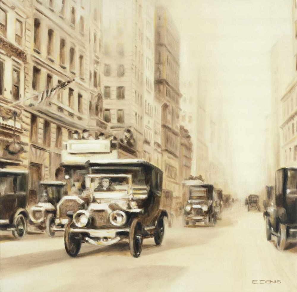 konfigurieren des Kunstdrucks in Wunschgröße Old street usa von Denis, E
