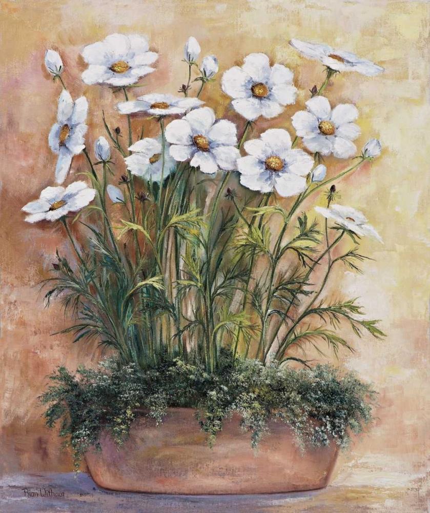 konfigurieren des Kunstdrucks in Wunschgröße White anemones in bowl von Withaar, Rian
