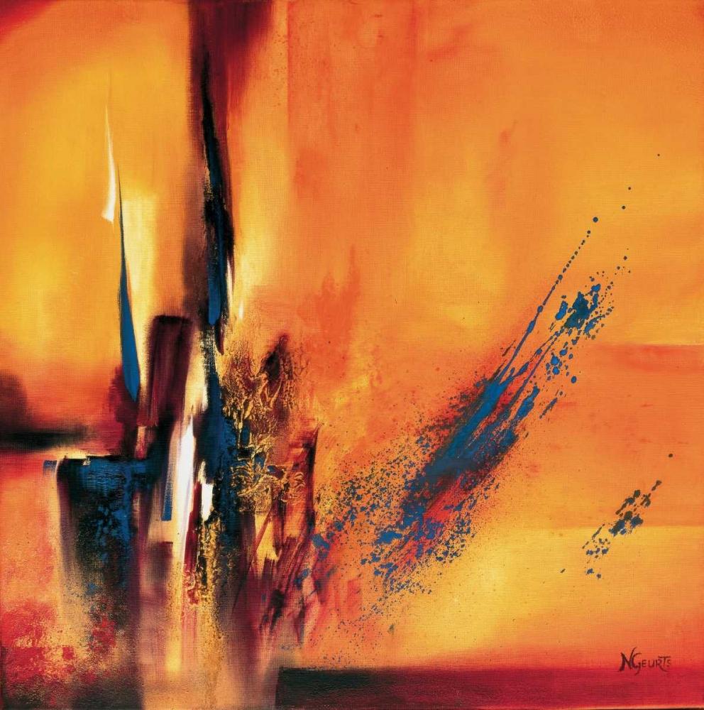konfigurieren des Kunstdrucks in Wunschgröße Abstract Impressions l von Geurts, Nelly