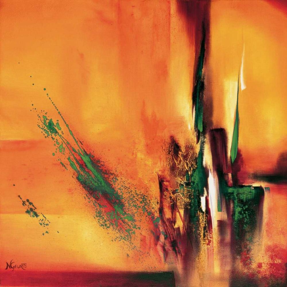 konfigurieren des Kunstdrucks in Wunschgröße Abstract Impressions ll von Geurts, Nelly