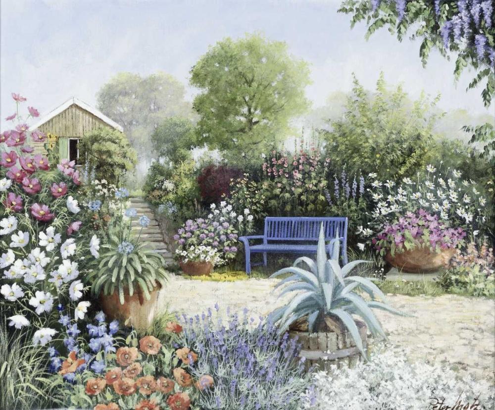 konfigurieren des Kunstdrucks in Wunschgröße Lindas Garden von Motz, Peter