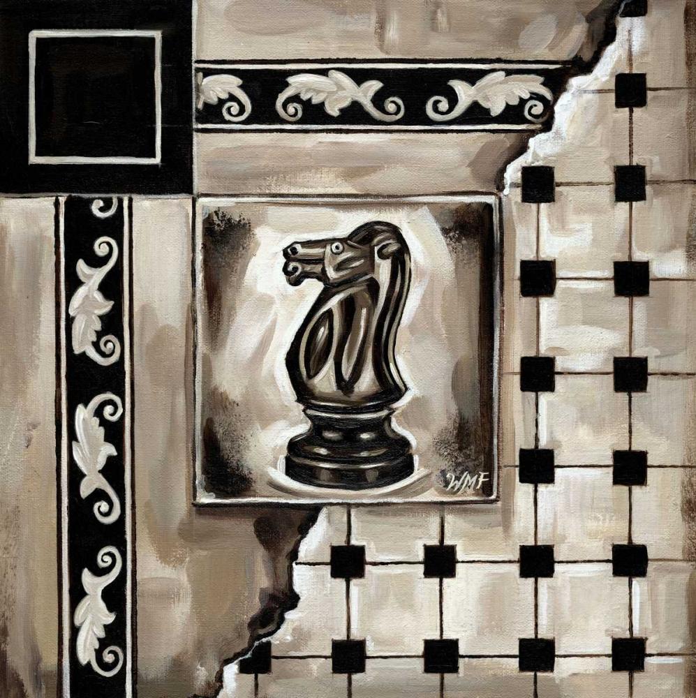 konfigurieren des Kunstdrucks in Wunschgröße Chess I von Fields, Wendy