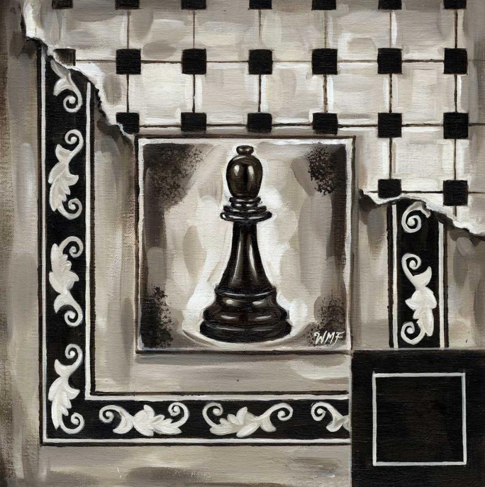 konfigurieren des Kunstdrucks in Wunschgröße Chess II von Fields, Wendy