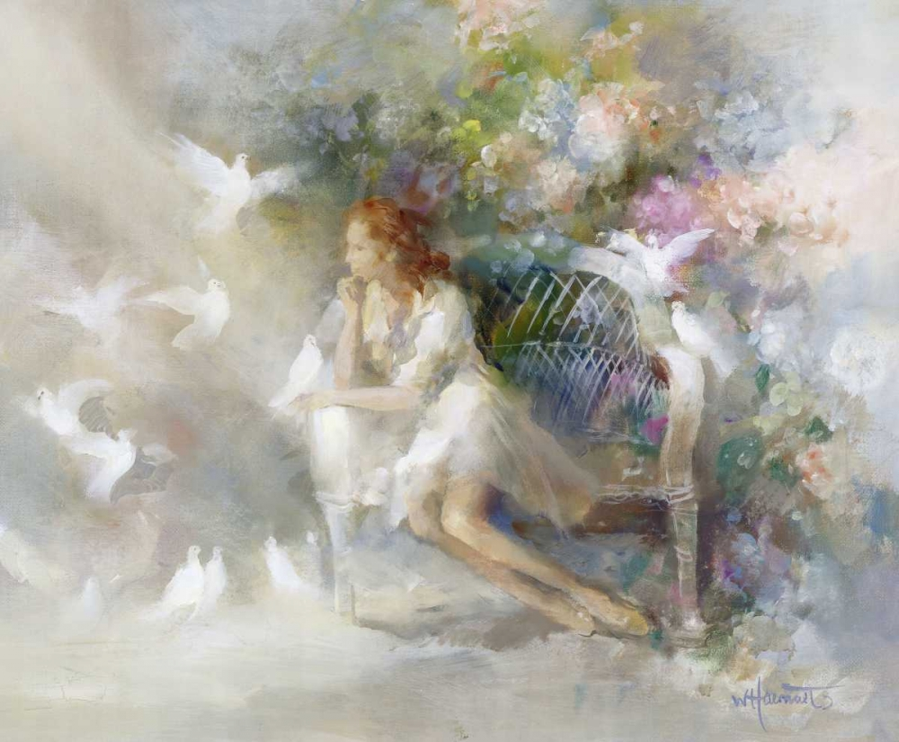 Soft touch,Haenraets, Willem,Horizontal,Romantic,Traditional,Figurative,Seasons,Contemporary,Leisure,,Contemporary,,WH2000-10