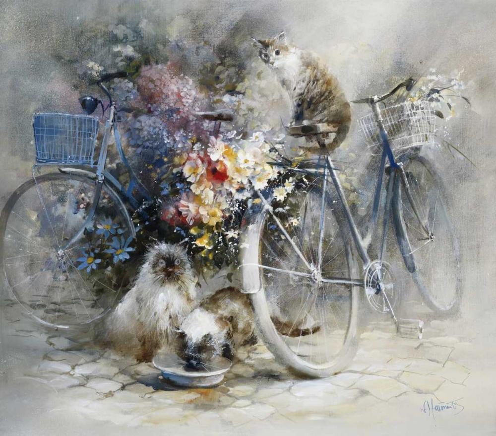 konfigurieren des Kunstdrucks in Wunschgröße Bicycle race von Haenraets, Willem