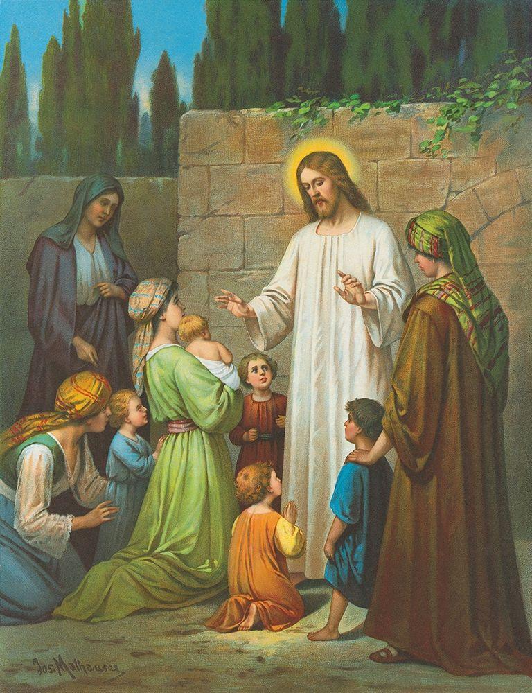 konfigurieren des Kunstdrucks in Wunschgröße JESUS von Anonymous
