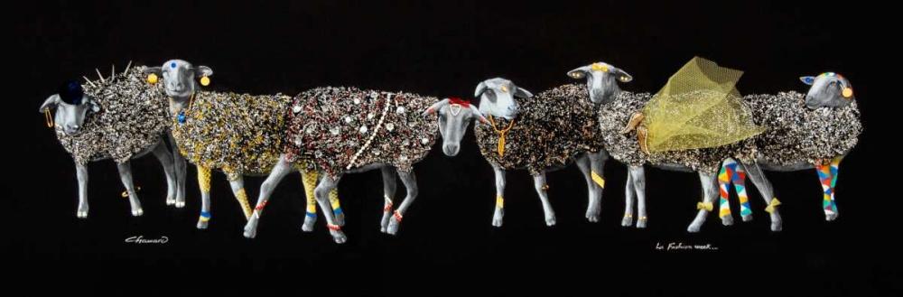 konfigurieren des Kunstdrucks in Wunschgröße Sheep 01 von Chamard, Jean-Marc